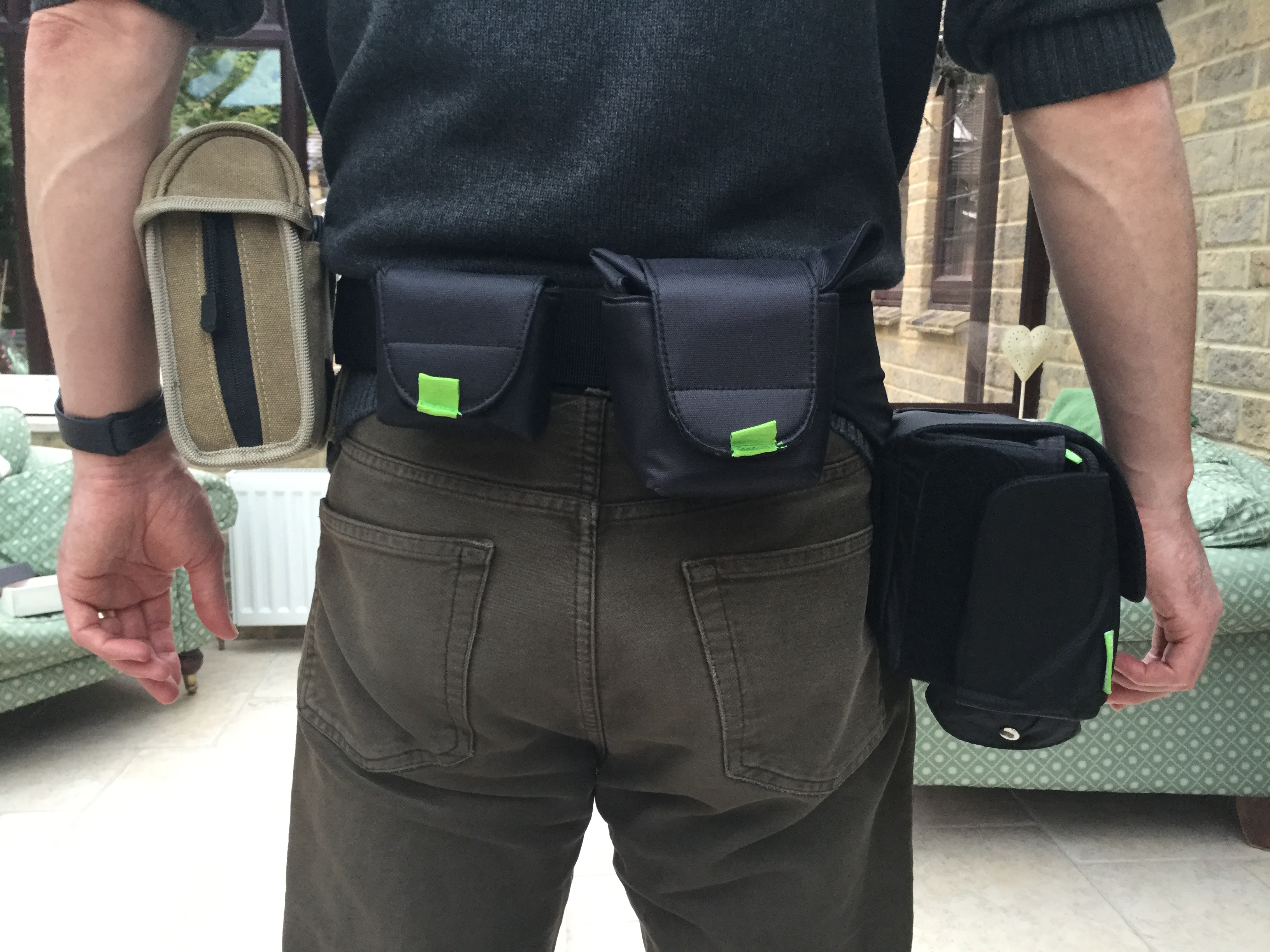 The Camslinger system puts your camera within easy reach for quick access.