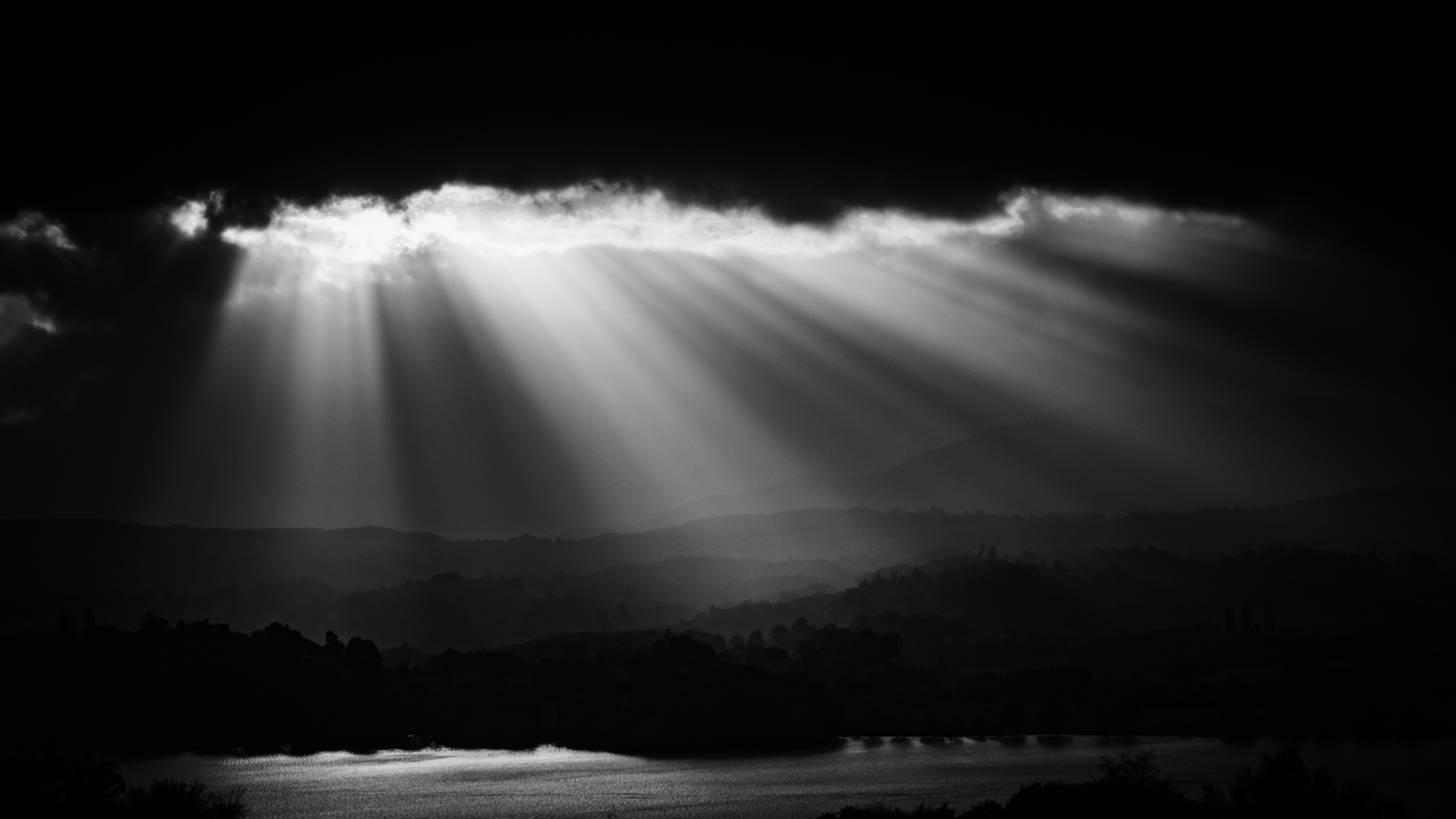 Black and white landscape photography richard walker photography